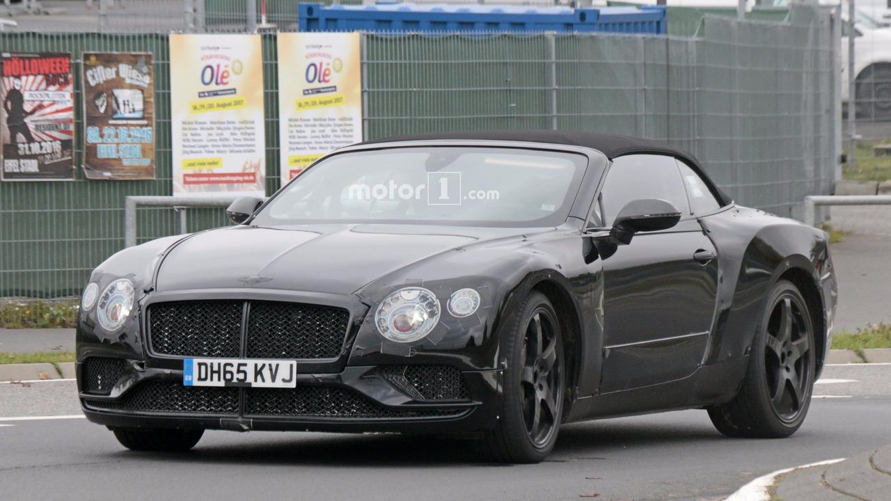 2017 - [Bentley] Continental GT - Page 2 2018-bentley-continental-gtc-spy-photo