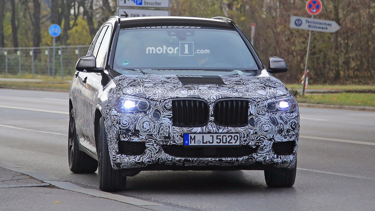 2016 - [BMW] X3 [G01] - Page 5 2018-bmw-x3-spy-photo
