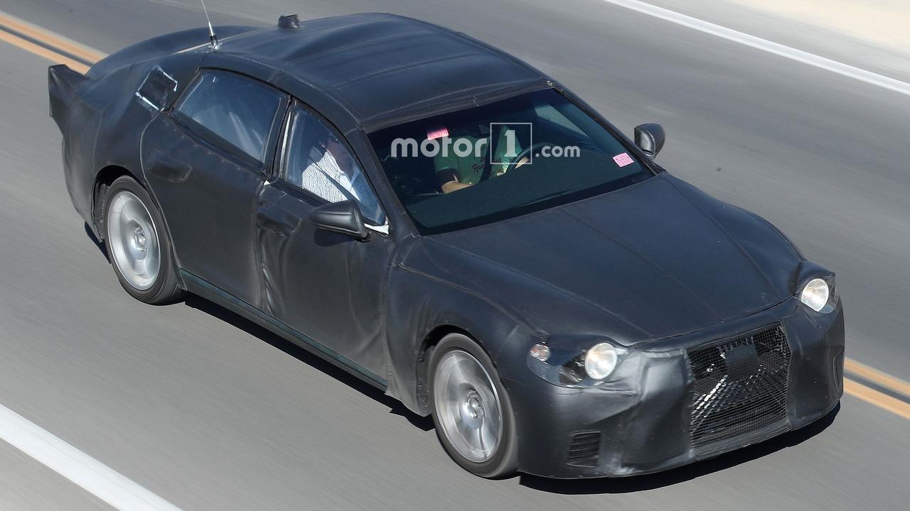 2016 - [Lexus] LS  - Page 2 2018-lexus-ls-spy-photos