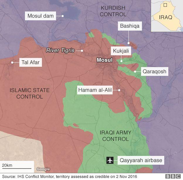 متابعة مستجدات الساحة العراقية - صفحة 28 _92231175_mosul_recapture_624map_2nov_v2