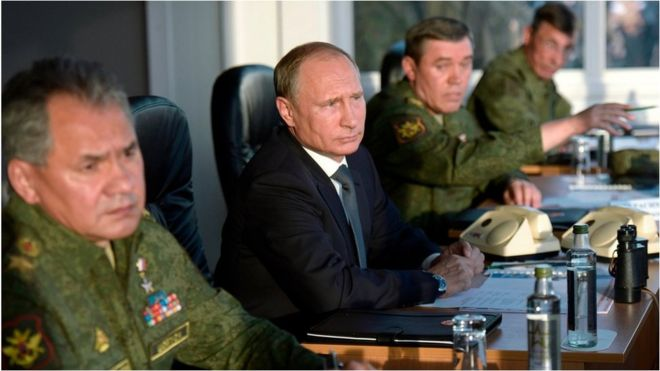 Who would Russia bomb in Syria? _85810347_85810343