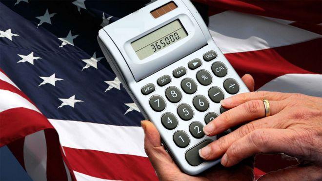 Estados Unidos / Elecciones  Presidenciales . _92250668_calculadora-bandera-3