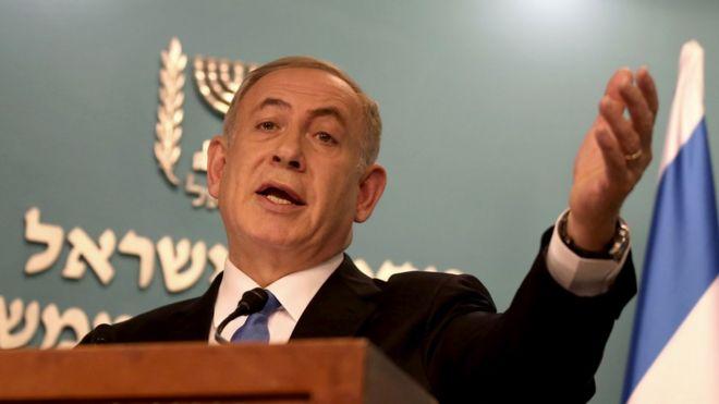 Israel's Netanyahu denies wrongdoing ahead of investigation _93184143_hi037030536