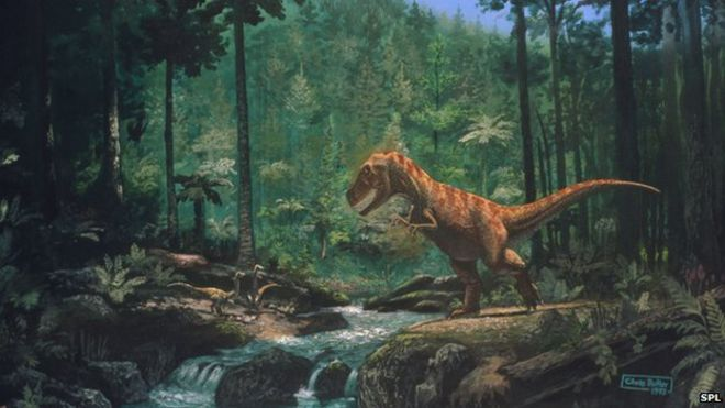 How Should the Franchise End? _76569011_tyrannosaurus_seen_in_a_forest-spl