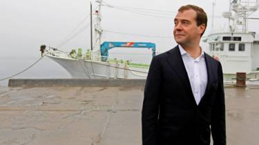 Rusia instalará una base en las islas por las que nunca hizo las paces con Japón. 160507010654_medvedev_kuriles_624x351_getty_nocredit