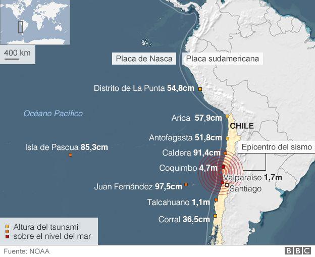 ¿Qué hace que los terremotos de gran magnitud sean menos mortíferos en Chile que en otros países sísmicos? 150917132000_chile_earth_quake_624_spanish