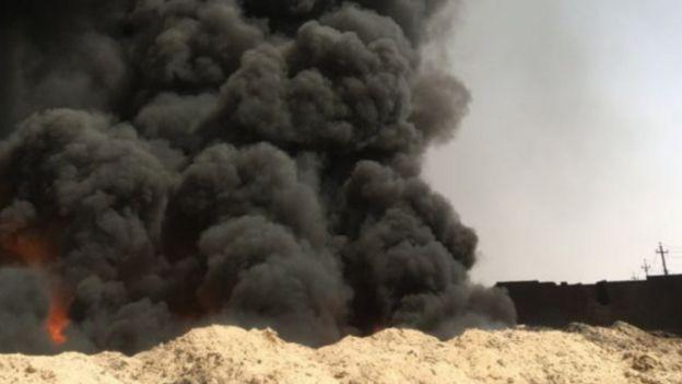 """هل يستعد تنظيم """"الدولة الإسلامية"""" لمعركة مروعة في الموصل؟ 160915164540_mosul_640x360_bbc_nocredit"""