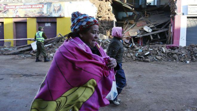 ¿Qué hace que los terremotos de gran magnitud sean menos mortíferos en Chile que en otros países sísmicos? 150917140740_chile_terremoto_624x351_epa