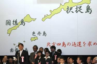 Rusia instalará una base en las islas por las que nunca hizo las paces con Japón. 160507010424_abe_kuriles_624x415_getty_nocredit