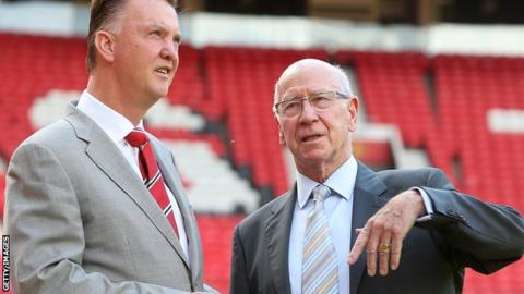 South - Sir Bobby Charlton: Manchester United rename Old Trafford South Stand _88281753_bobby_charlton1