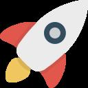 [Testar]  Torneira da nova Moeda LISK funcionando bem!(50 mil satoshis de BTC cada) Divirta-se! Rocket_icon-icons.com_54375