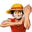 http://icons.iconarchive.com/icons/crountch/one-piece-character/64/Monkey-D-Luffey-icon.png