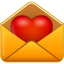 Iconset: Vista Love Icons by Icons-Land  Email-love-icon