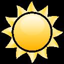 Lundi 25 janvier 2016 Sun-icon