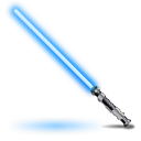 Parks and Recreation Obi-Wans-light-saber-icon