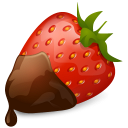 Iconset: Vista Love Icons by Icons-Land  Strawberry-Chocolate-icon