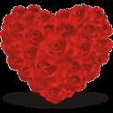 [Event] Chào mừng Ngày Quốc Tế Phụ Nữ 8/3 Heart-of-roses-icon