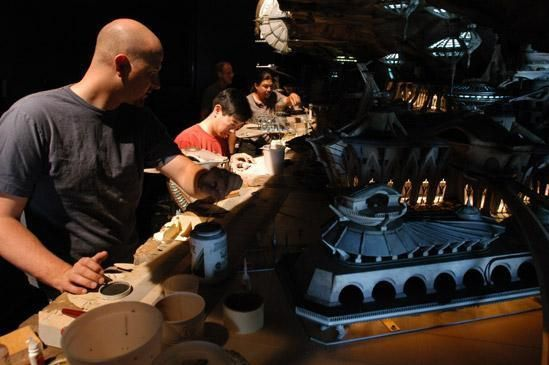 Star wars les maquettes officielles des films ! 02utapau