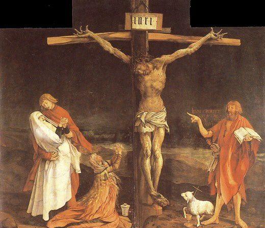 Crucifixions dérangeantes GRUNEWALD-CRUCIFIXION-COLMAR