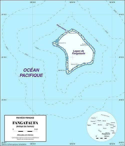 MURUROA - FANGATAUFA Volume 1 Fangataufacarte