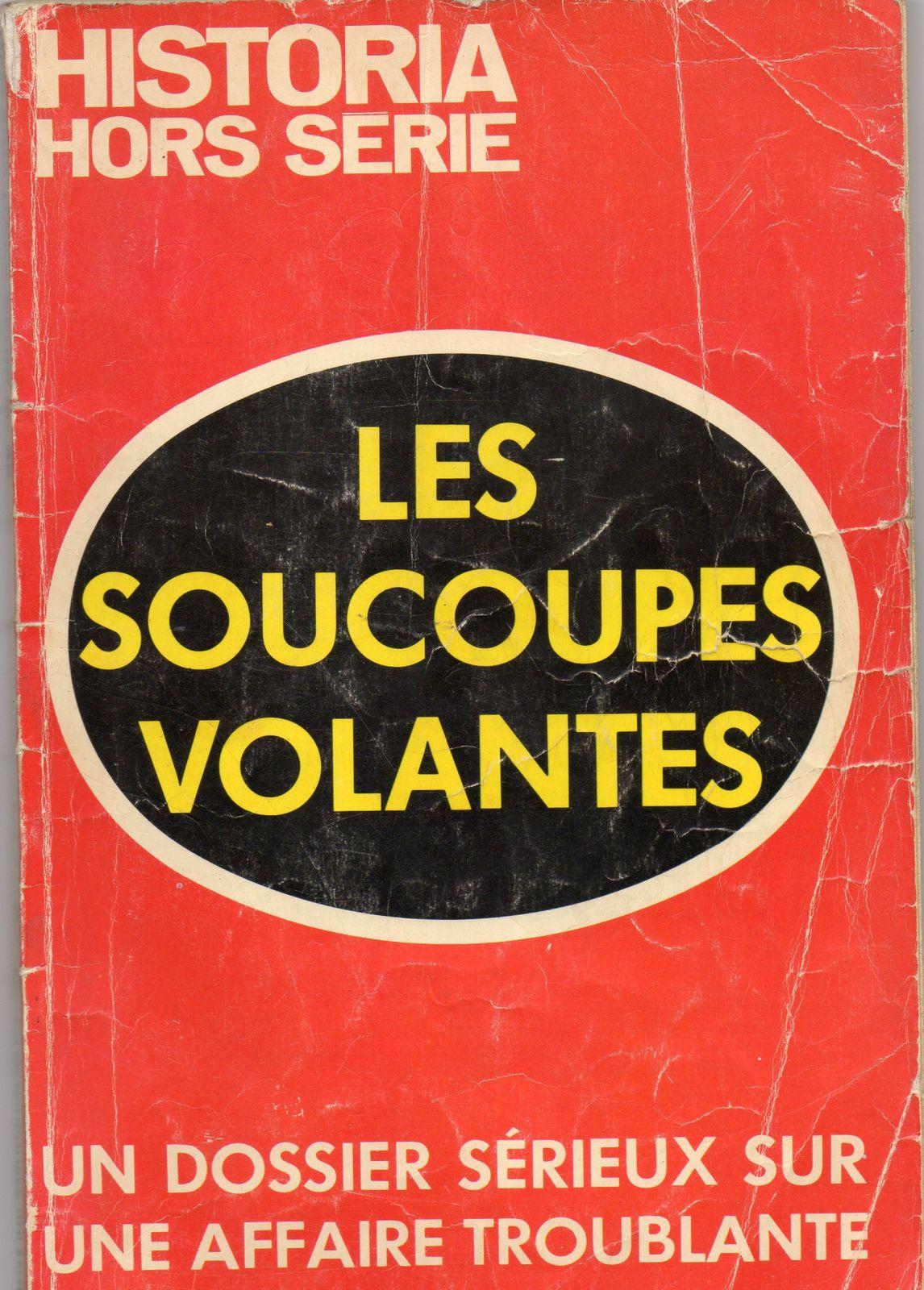 (1976) : HISTORIA Hors série, Les soucoupes volantes. Page-de-garde
