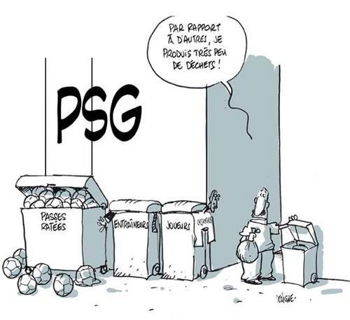 Réactions PSG 2 / Nissa 3 Psg