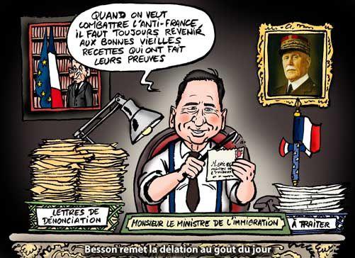 Néo-Régime de Vichy  (et néo-monstres) Sarkozy-besson-vichy-petain-adn-2