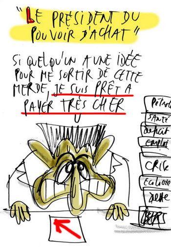 """la """"crise"""" et nous... - Page 2 Sarkozy-clown-pathetique-20080929"""