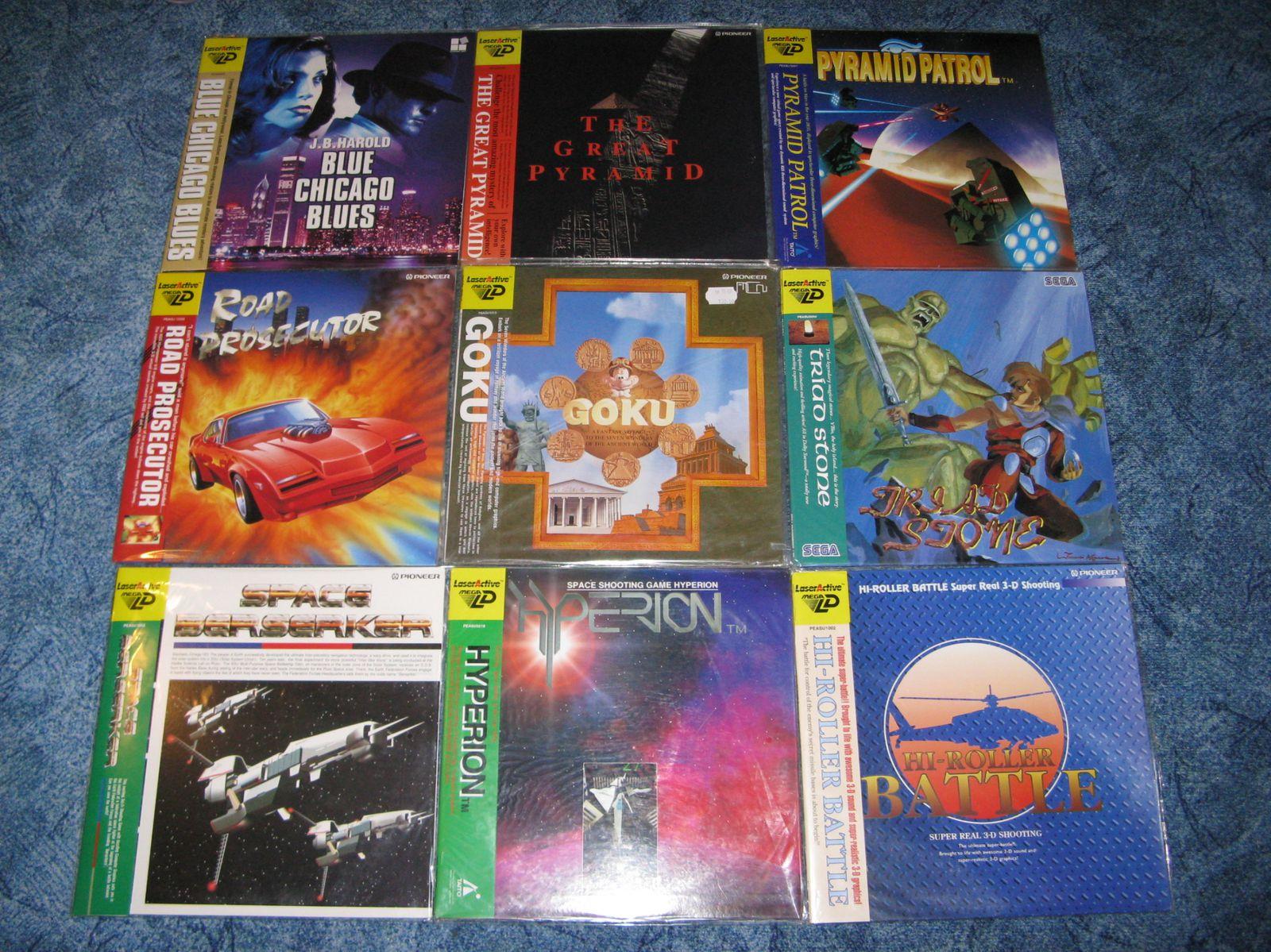 Collection 100 % Mega CD! Full set mega cd pal in!! et Mega LD! - Page 2 Laseractive-et-Mega-LD-2427