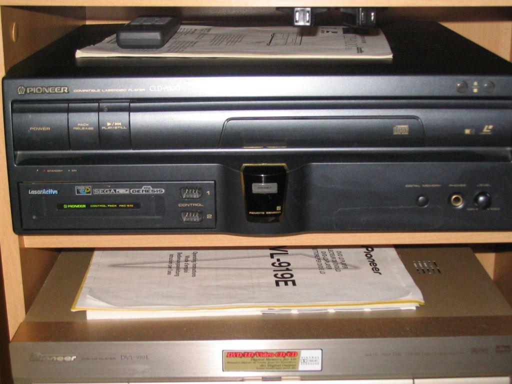 Collection 100 % Mega CD! Full set mega cd pal in!! et Mega LD! Laseractiveog3
