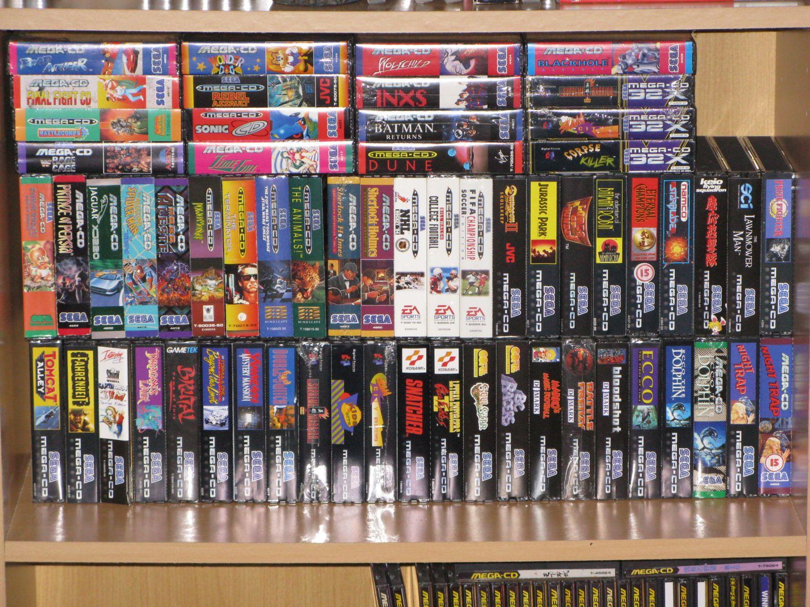 Collection 100 % Mega CD! Full set mega cd pal in!! et Mega LD! Les-spins-cards-pal-2420