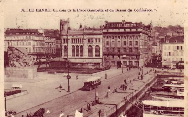 Photos historiques du réseau havrais (bus, tram, funi...) Le-havre-1907