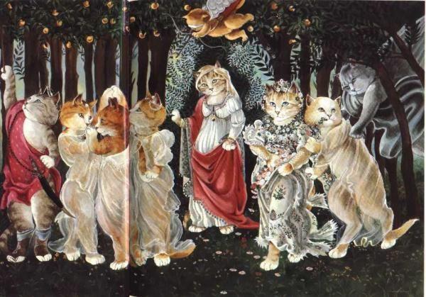 Esta tarde tenemos una cita Botticelli-primavera