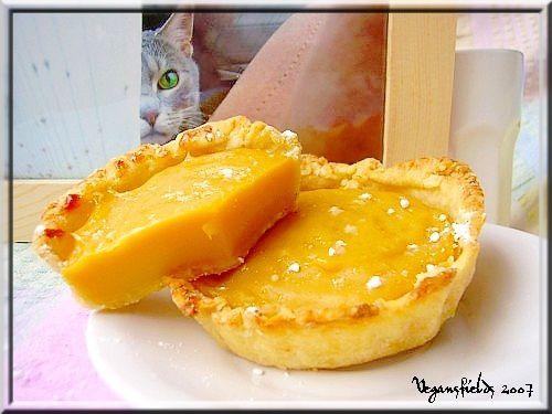 Flan pâtissier (VGL) & topo sur la poudre custard Flan-blog-copie-1