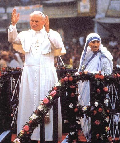 Michel blogue les 450 citations/Bienheureuse Mère Teresa de Calcutta/Navigation Libre/ Jean-paul-ii-20_45_