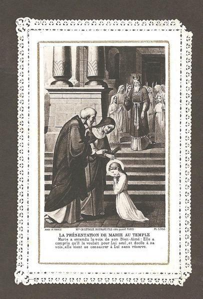 21 novembre : Présentation de la Très Sainte Vierge Presentation-2Bof-2BMary