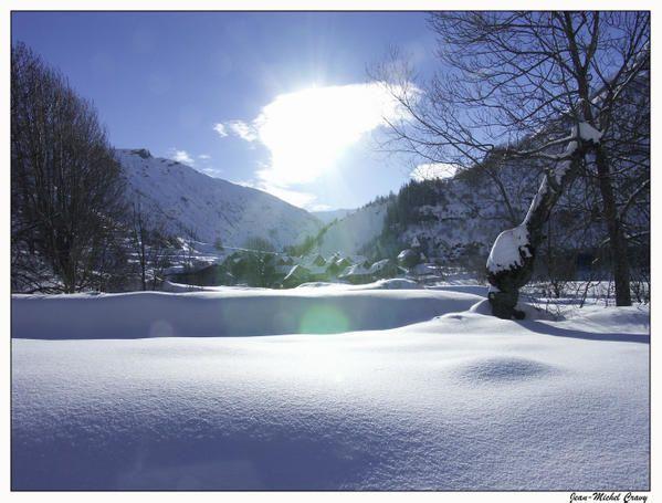 Photos et Images diverses =) Paysage-de-neige-2