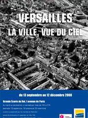 Versailles vu du ciel.  Vueduciel