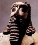 Les annunakis: ceux qui descendaient du ciel sur la Terre, qui sont-ils? Mesopot_eyes_man