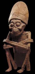 Les annunakis: ceux qui descendaient du ciel sur la Terre, qui sont-ils? Mictlantecuhtli