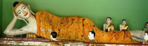 UN COUP DE COEUR POUR CES REPRESENTATIONS DE BOUDDHA Yangon-1