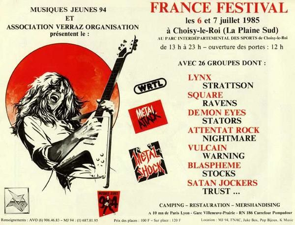 DEMON EYES France-festival-affiche-1985