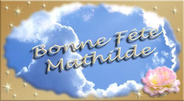 Bon Lundi Mathilde-fete
