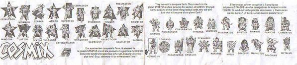 Cosmix tout savoir d'eux ! Document213lu