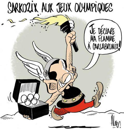 Pastiches, detournements, plagia de vos personnages préférés ! - Page 6 Asterix-JO-copie