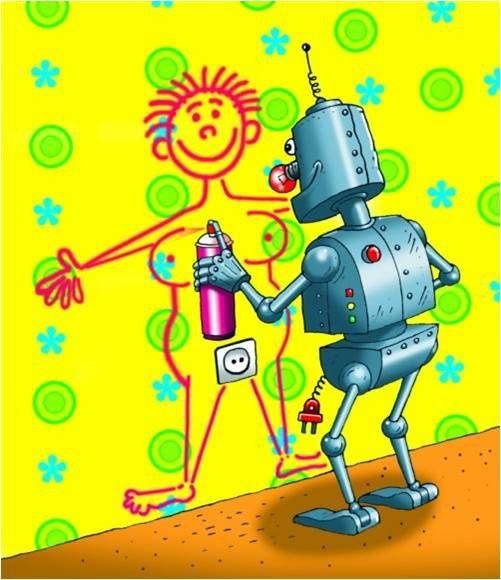 Mesdames, voici une rubrique ou je vous propose de nous conter tous vos fantasmes sexuels... - Page 2 Fantasme-de-robot