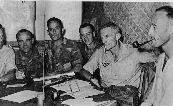 la bataille de Dien Bien Phu P115---Batella--Bigeard--Tourret-et-Langlais-Dien-Bien-Phu