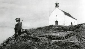 Roscoff et sa chapelle Ste Barbe Devant-la-chapelle-sainte-barbe