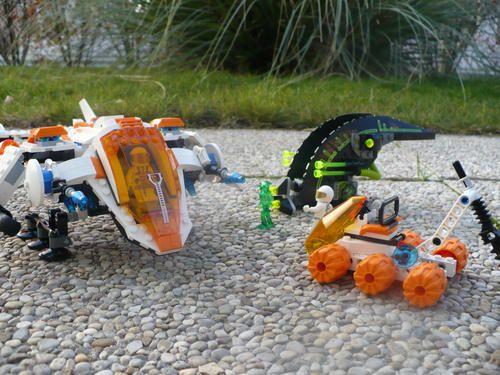 Review: Lego Mars Mission 7692 Recon Dropship MX-71 P1010057