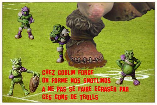 Goblin forge Snot